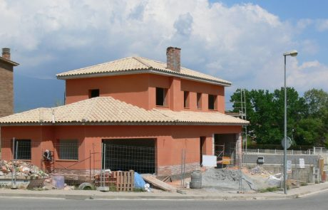 Construction of a villa